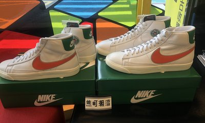 Us.9全新 Nike Blazer Mid Stranger Things CJ6101-100 怪奇物語