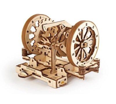 Ugears STEM教育系列-微分轉換器 DIY學習木質模型 AR擴增實境