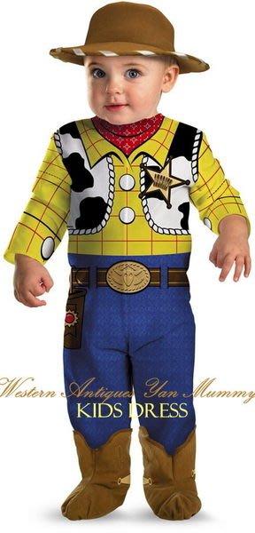 妍媽咪兒童禮服出租~迪士尼玩具總動員胡迪嬰兒Baby萬聖節造型服~~巴斯大眼怪巧克力