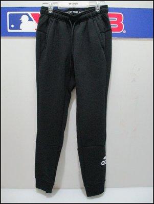 【喬治城】ADIDAS 女款縮口運動長褲 休閒 黑色 正品公司貨 EB3806