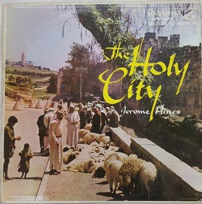 {夏荷美學生活小舖}古典黑膠 杰羅姆·希恩斯 - 聖城 Jerome Hines - The Holy City