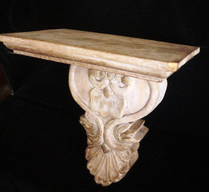 【布拉格歐風傢俱】花台架層板架 燭台置物架  原木製 手工製