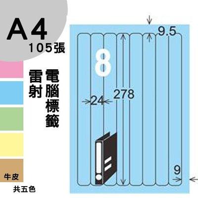 【免運】龍德 電腦標籤紙 8格 LD-866-B-B  淺藍色 1000張 列印 標籤 三用標籤 出貨 貼紙 有其他規格