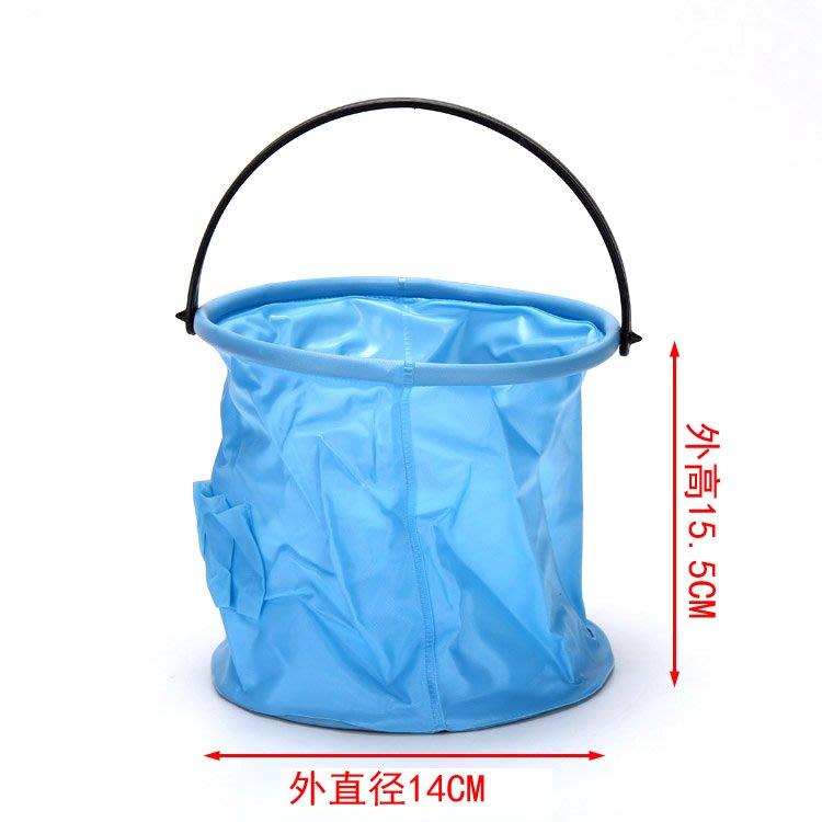 阿里家 小號硬底水桶 多功能洗筆桶可折疊水桶 壓縮水桶 畫材多顏色可選