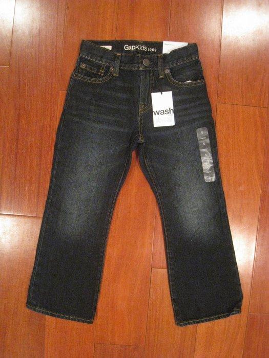 Gap 1969 牛仔系列 男童牛仔褲 5. 6 歲  有3款 # 購買兩件以上, 單價690含運