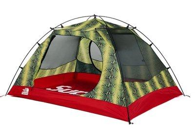 現貨 ☆HAru☆ SUPREME x THE NORTH FACE SNAKESKIN tent Stormb 帳篷紅