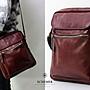 SCHEMER/  8247 牛皮製淺咖啡色側背包 真皮側...