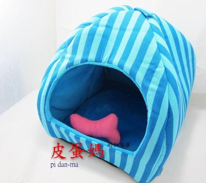 【皮蛋媽的私房貨】BED0460蒙古包-可拆可洗寵物窩-沙發床/寵物床/貓窩/狗窩/貓床/狗床/睡墊軟墊-寵物床貓床-S