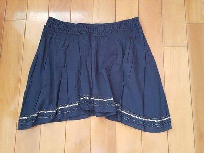 American Eagle AE 藍色 亮片 不規則 短裙
