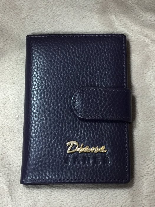 Diana Janes 黛安娜 信用卡夾 卡片收納夾 名片夾 (神秘紫色)