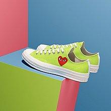 【OB海外代購】Converse x CDG PLA 1970S CHUCK TAYLOR 綠 低筒 帆布鞋 川久保玲
