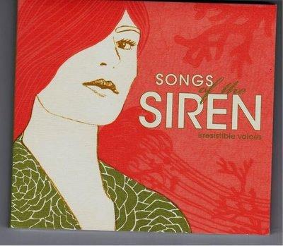 Song of the SIREN / irresistible voices Starbucks 星巴克 2008 EMI 如新 值得一聽的女聲