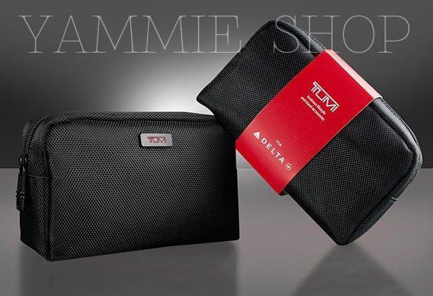 精品好貨 TUMI &達美航空 輕量級盥洗包 過夜包 3C包 化妝收納包 旅行整理包 藍牙數據線耳機(TBH7)