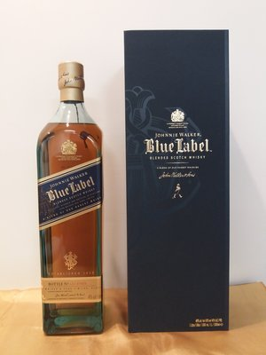 Johnnie Walker Blue Label Scotch Whisky, 1000ml 40%