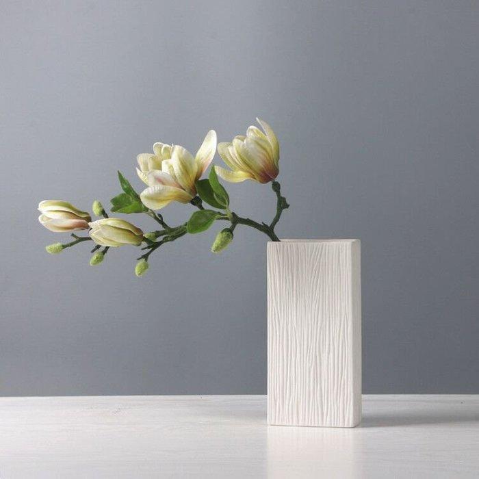 熱賣北歐陶瓷干花花瓶白色小清新現代水培滿天星插花花瓶擺件客廳裝飾#擺件#陶瓷#北歐