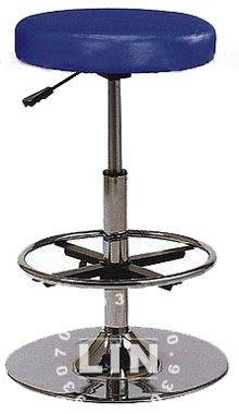 【品特優家具倉儲】R929-16吧台椅櫃檯椅洽談椅厚墊六公分電鍍