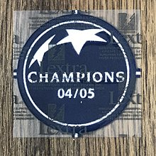 歐聯 Uefa 04-05 Champions League Champion Patch for 利物浦 Liverpool