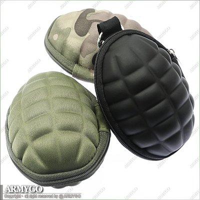 【ARMYGO】手榴彈造型 鑰匙零錢包...