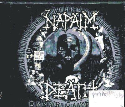 *真音樂* NAPALM DEATH / SMEAR CAMPAIGN 二手 K17801 (封面底破)