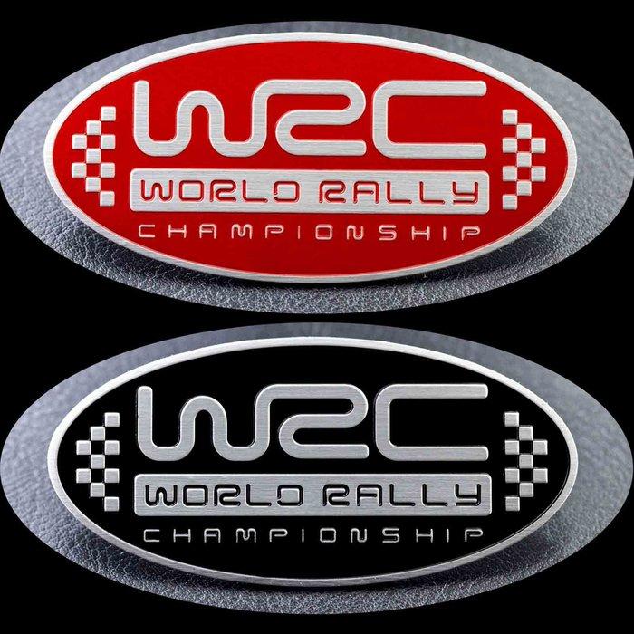 黑咖啡。WRC 鋁合金 改裝 標誌 貼飾 TRD AMG HKS WRC 無限 GTI BMW MPOWER 奧迪 現代