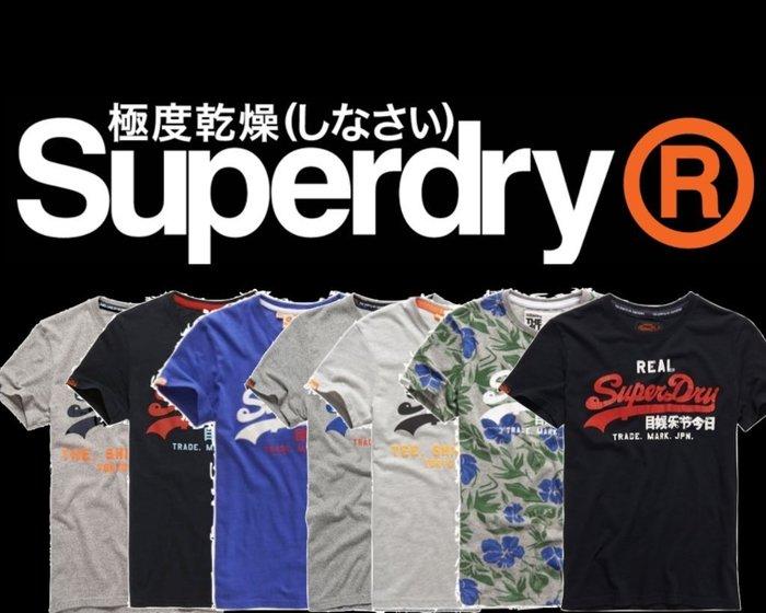 激安的英國 極度乾燥 Superdry Vintage Logo T-shirt 經典款 復古 短袖 上衣 A&F 現貨