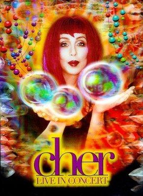 正版DVD《雪兒》拉斯維加斯現場表演嘉年華/Cher : Live In Concert全新未拆