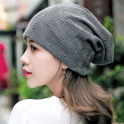 春秋薄款棉襯透氣化療帽光頭睡帽月子孕婦帽LJ5144