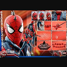 現貨 全新未開 Hottoys VGM32 Marvel PS4 SpidermanSpider Punk Suit