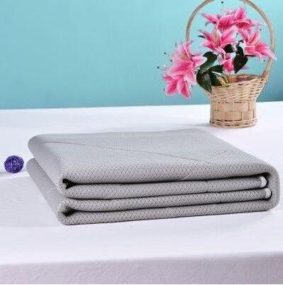 夏季薄床墊透氣折疊防滑夏天清涼床褥空調席軟涼墊被igo