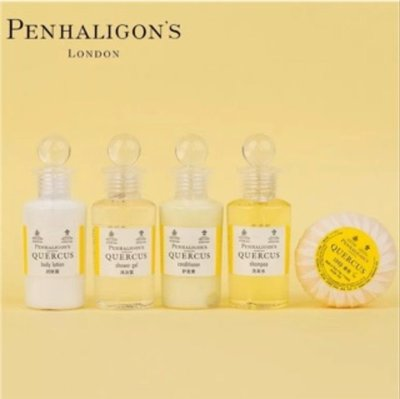 Penhaligon's 潘海利根 QUERCUS 橡樹洗髮精 50ml / 潤髮乳 30ml / 沐浴乳 50ml