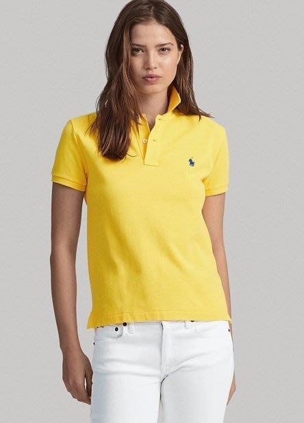 Polo Ralph Lauren 小馬 短袖 POLO衫 現貨 黃色