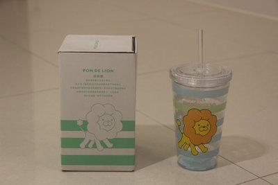 Mister Donut波堤獅限量絕版冷飲杯-3 , 99元商品一次買3個免運費(可任選,請先詢問是否有貨)