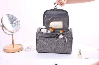 化妝刷收納包便攜款折疊防水便攜大容量掛鉤洗漱包旅行收納化妝包CY