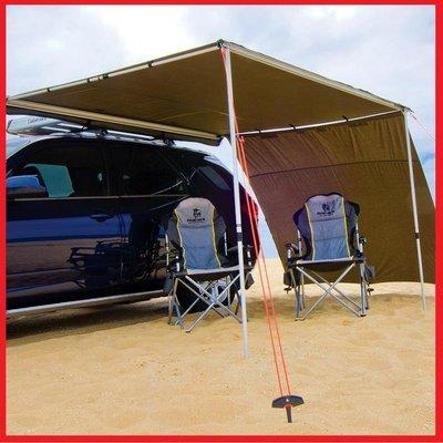 三分鐘速搭收車邊帳 2*3米 (獨家送快拆組/更容易安裝/304不鏽鋼配件) 一體成形汽車側邊遮陽棚 車頂天幕 防雨帳篷