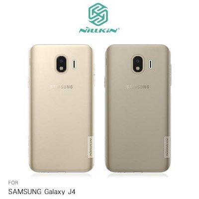 --庫米--NILLKIN SAMSUNG Galaxy J4 本色TPU軟套 手機套 超薄果凍套 透色套 保護殼