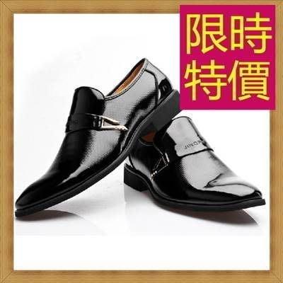 休閒內增高鞋-新款品味隱形男真皮鞋子(零碼賠售出清、恕不退換)54e24[義大利進口][米蘭精品]