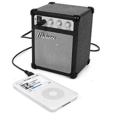 迷你搖滾音箱造型 USB/電池兩用 音...