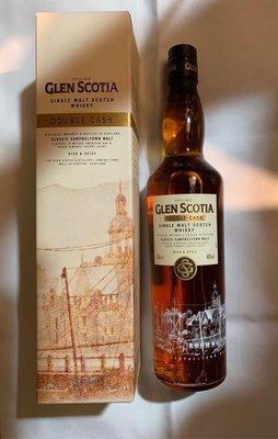 Glen Scotia Double Cask Single Malt Scotch Whisky, Campbeltown, Scotland