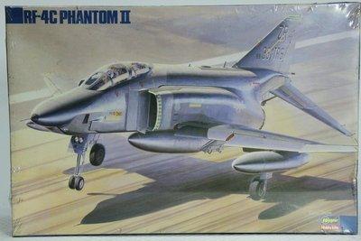 """【統一模型玩具店】HASEGAWA《美國空軍 幻像戰鬥機""""RF-4C""""》1:72 # 04110 (KA-10)"""