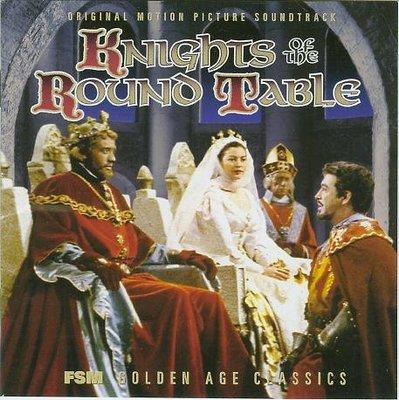 圓桌武士-2CD完整版(Knights of the Round Table)- Miklos Rozsa,美版58-1