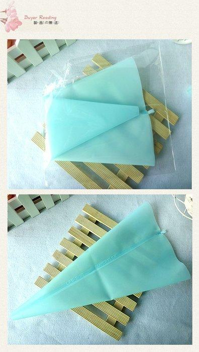 Amy烘焙網:(中號)食品級矽膠奶油擠花袋 餅乾擠花袋 裝飾蛋糕