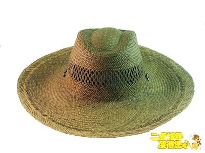 【二鹿帽飾】夏日型男 素面燈心草超透氣草帽☆ 登山專用草帽