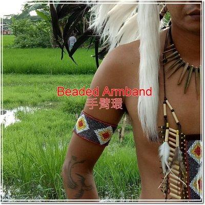 印第安手臂環 印第安飾品  印地安風 印地安手臂環 Beaded Armband Indian accessory C款 新北市