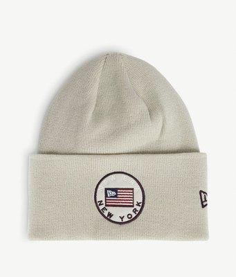 (請先詢問)(預購7天寄出)New era USA flag patch ribbed beanie hat 毛帽