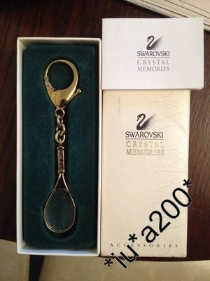 swarovski key holder 鎖匙釦  網球拍