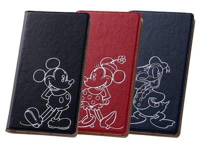 尼德斯Nydus~* 日本 Disney 迪士尼 米奇 米妮 唐老鴨 皮套 翻頁式 手機殼 Sony Z3+ Z4