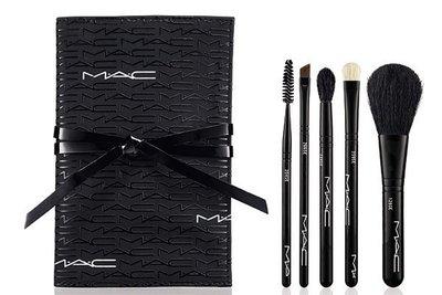 【Qin美妝】MAC 玩色基礎5支刷具組-底妝刷具入門必備款