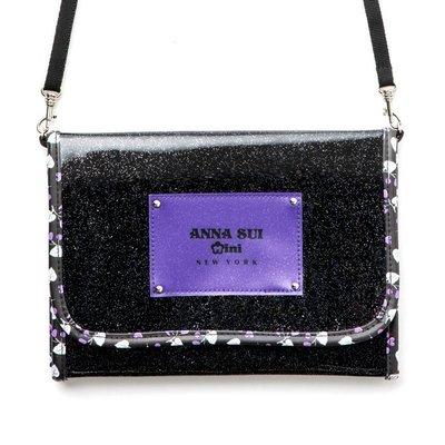 《瘋日雜》300日雜mook附錄ANNA SUI mini 安娜蘇 兩用包斜背包小方包收納包 側背包