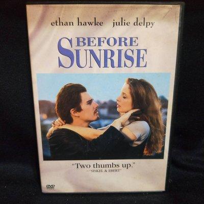愛在黎明破曉時 Before Sunrise 正版三區 DVD