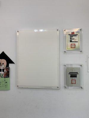 永承壓克力 透明壓克力 A1 海報夾-兩層式 海報架 海報框 A1 其他各樣式尺寸均可客製化 展示 展覽 廣告 佈告欄
